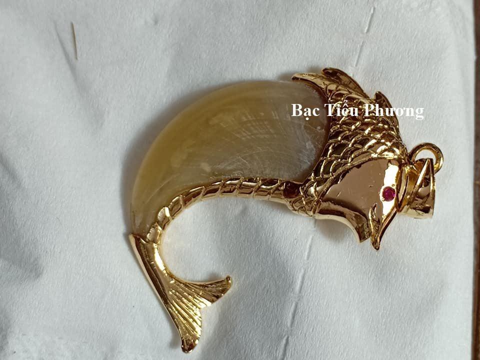 mẫu móng hổ bọc cá chép vàng tây