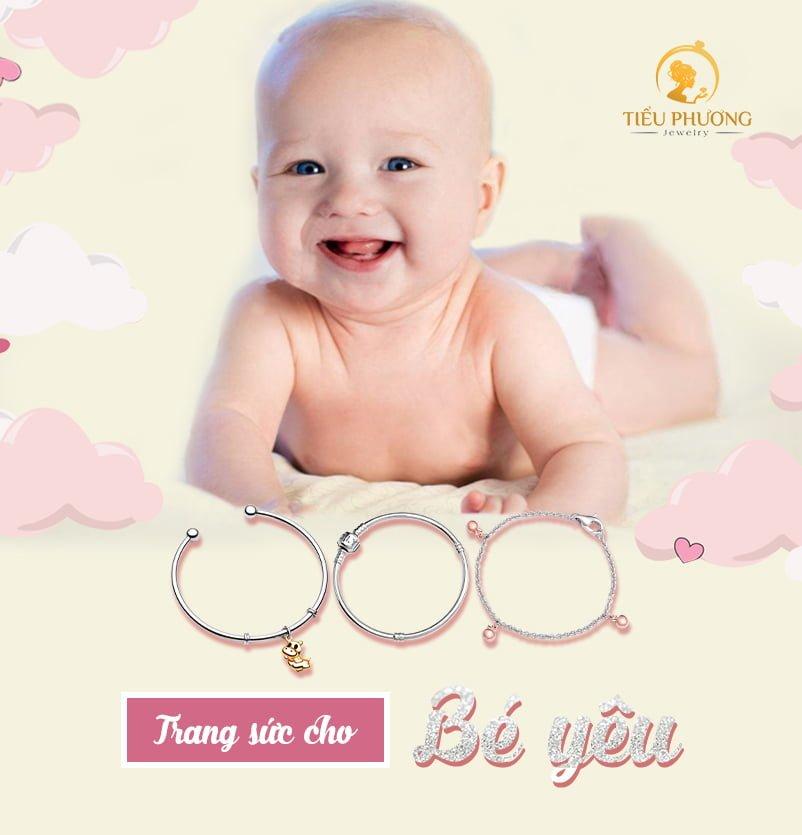 Những phần quà trang sức đáng yêu dành cho trẻ nhỏ chỉ có tại Bạc Tiểu Phương.