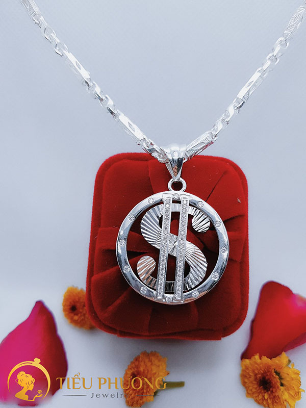 mặt dây chữ S dollar