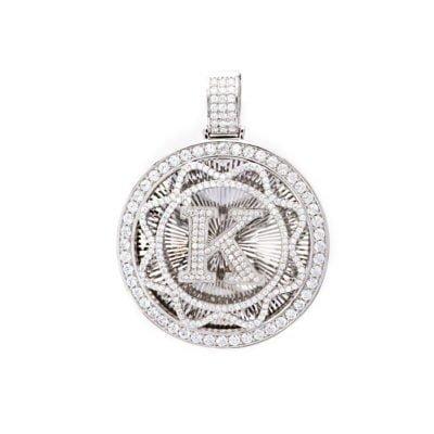 Mặt dây chuyền nam chữ K độc đáo cho chủ nhân tên Khang, Khiêm, Ký...