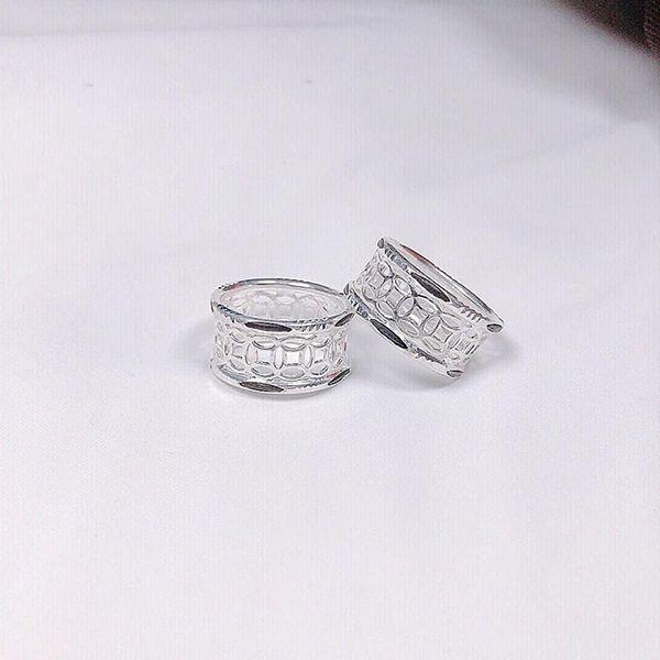 nhẫn lông voi kim tiền bạc 925
