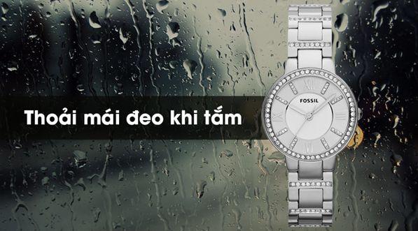 đồng hồ fossil có chống nước không?